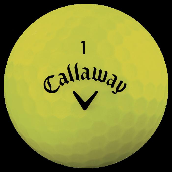 The Superhot Bold Matte Yellow 15-Pack Golf Balls