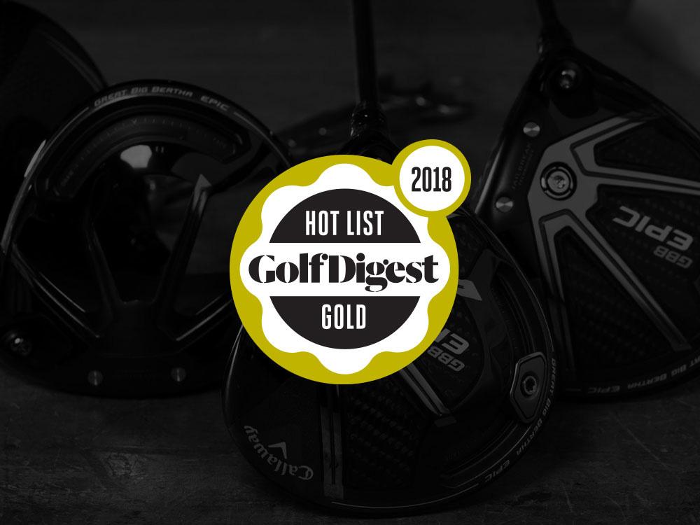 Callaway GBB Epic Driver 2017 Golf Digest Hot List Gold Badge