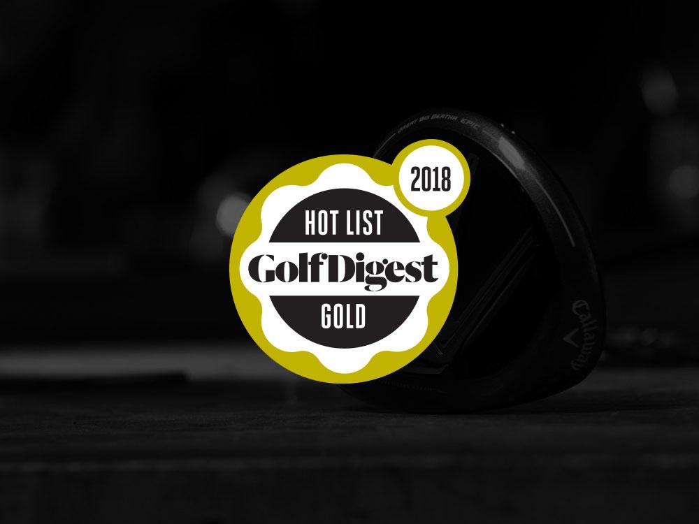 Callaway GBB Epic Fairway Wood 2017 Golf Digest Hot List Badge