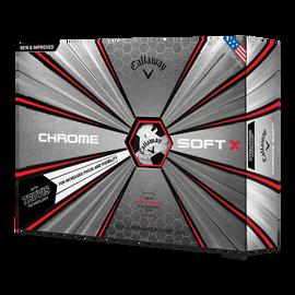 2018 Chrome Soft X Truvis Black Golf Balls