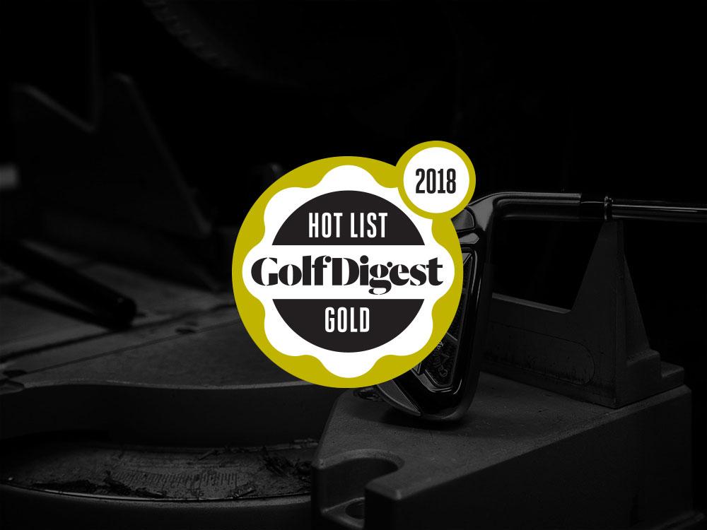 Callaway Big Bertha Irons 2018 Golf Digest Hot List Badge